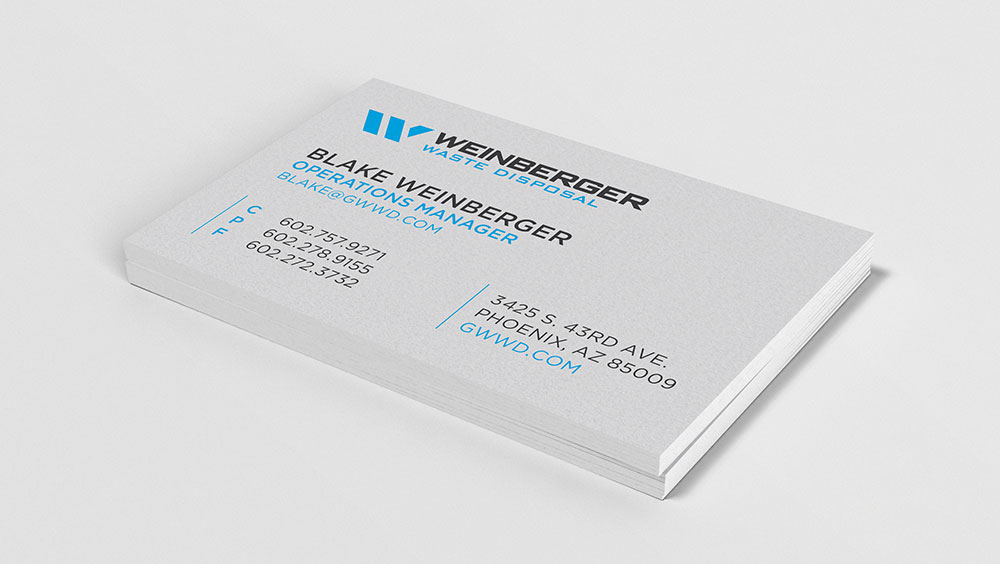 New Identity for Weinberger